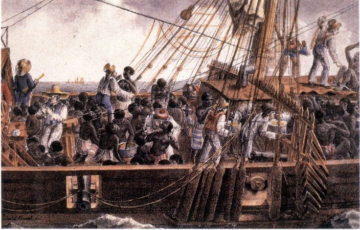 Slave ship provisioning in the long 18th century. A boost to West ...